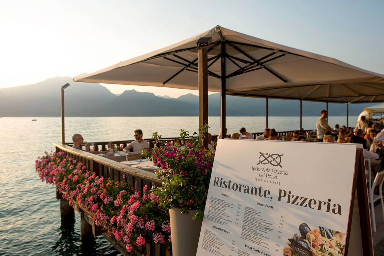 ristorante per matrimoni sul lago di Garda a Torri del Benaco